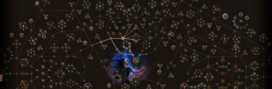 path of exile билды ведьма хаос