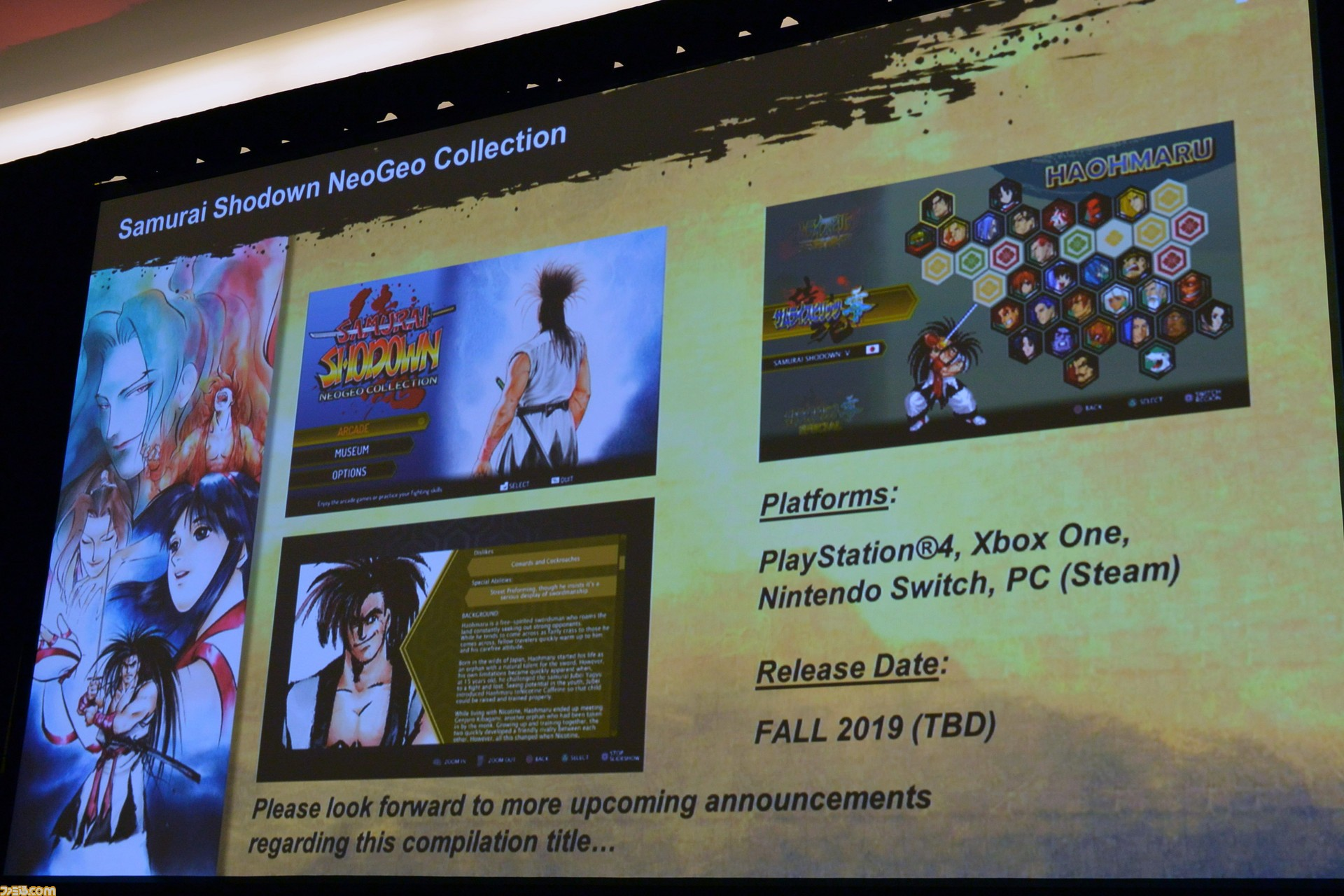 [PAX East 2019] Samurai Shodown NeoGeo Collection выйдет осенью