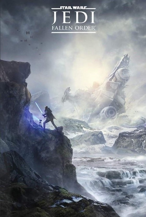 [Утечка] Star Wars Jedi: Fallen Order — В сеть попал постер