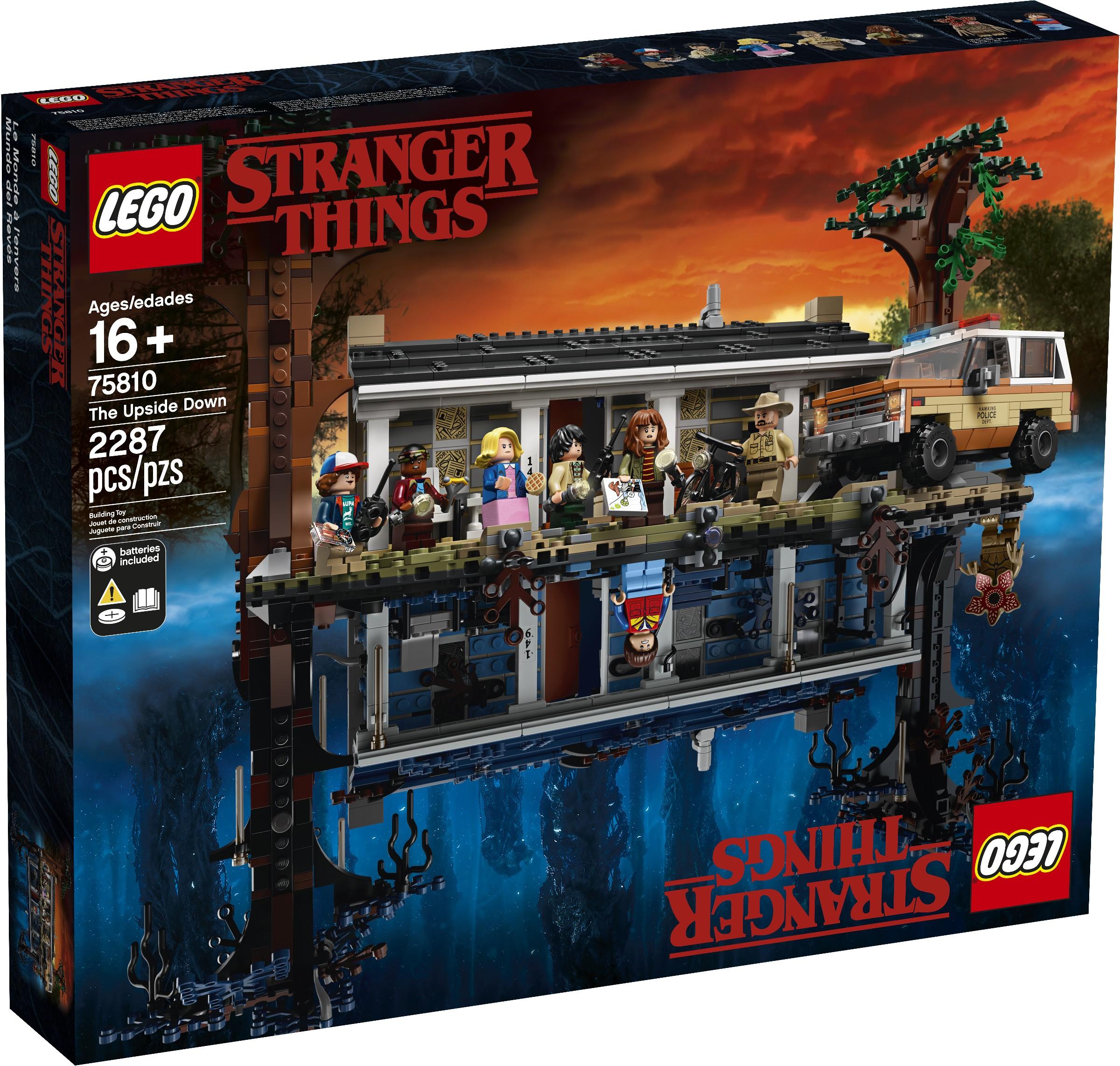 LEGO выпустит набор с домом Байерсов из «Очень странных дел»