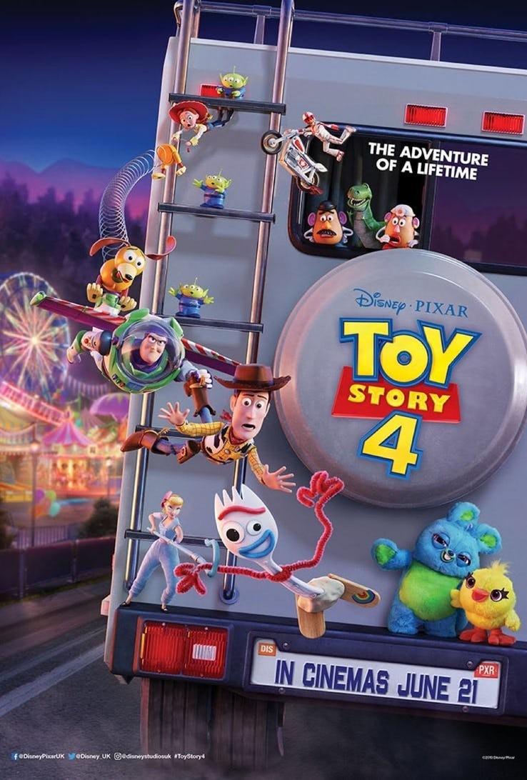 Международный трейлер «Истории игрушек 4»