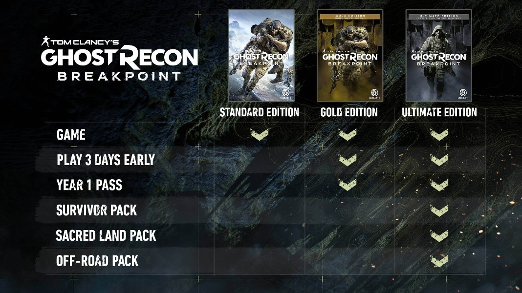 Tom Clancy's Ghost Recon Breakpoint - Новая часть знаменитой серии