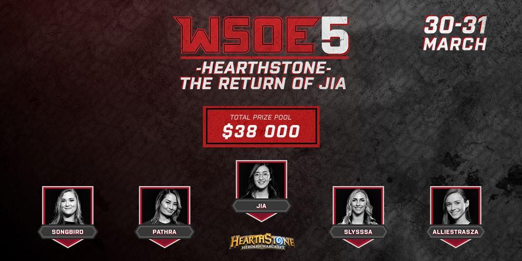 Hearthstone – Стартует турнир WSOE 5: The Return of Jia
