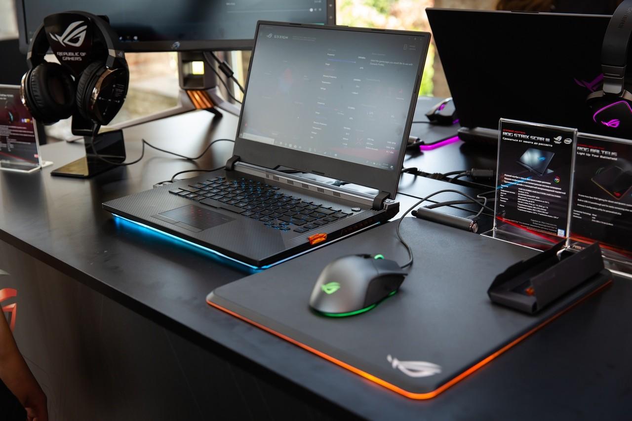 ASUS ROG RE:DEFINE 2019 в Стамбуле: новые игровые ноутбуки