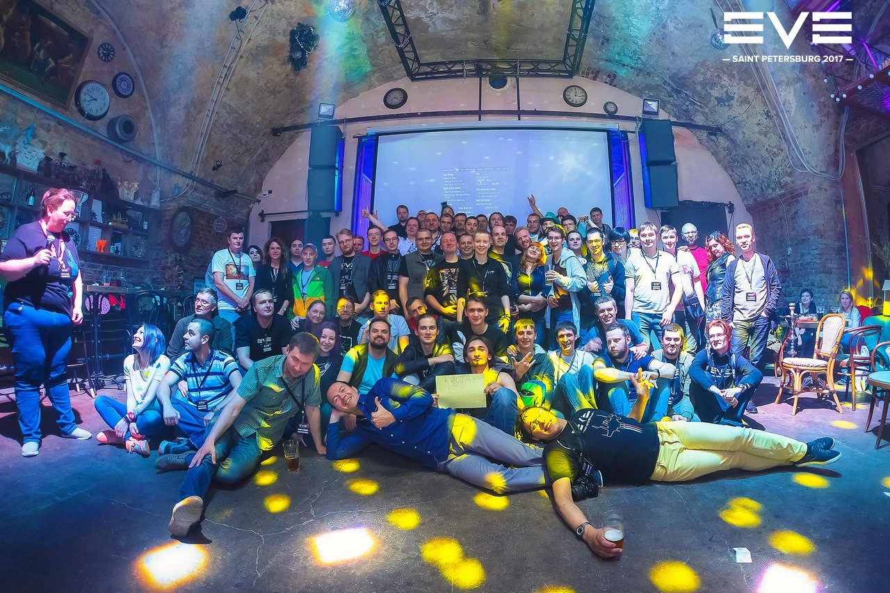 EVE Online — Готовимся ко встрече с разработчиками в Санкт-Петербурге