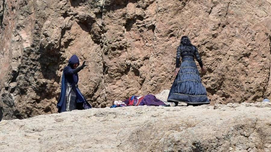В сети появились фотографии со съемок «Ведьмака», на одной из них засветилась Йеннефер
