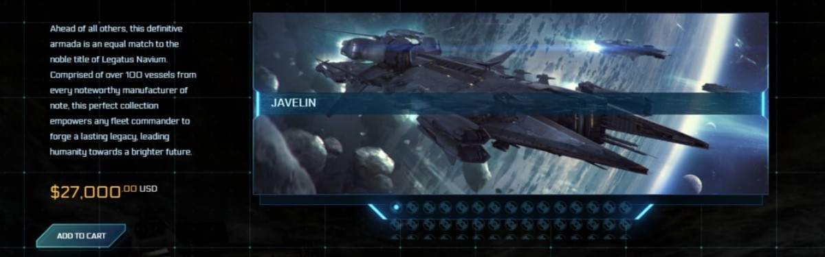 Star Citizen - Новый набор за 27 тысяч долларов