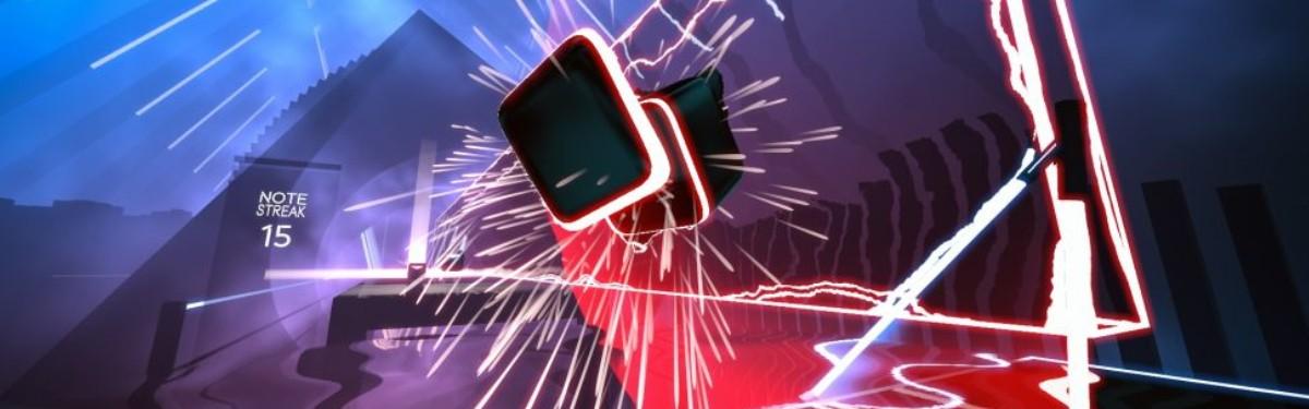 Beat Saber - Два контроллера - двухклинковый световой меч