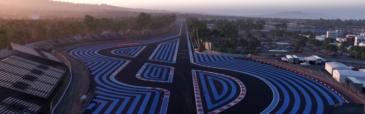 F1 2018 - Изучаем новую трассу Поль Рикар