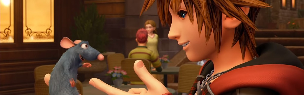 Kingdom Hearts 3 - Свежий геймплейный ролик