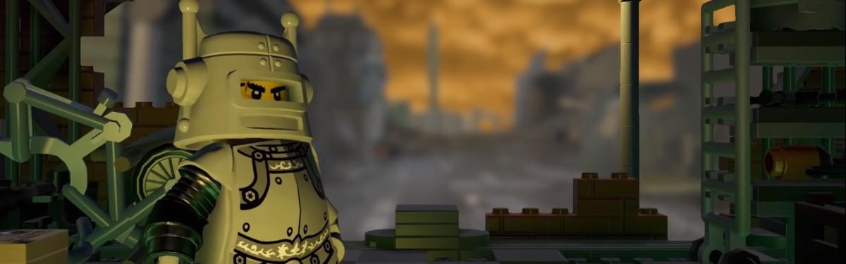 Игрок воссоздает Fallout 3 в Lego Worlds. Посмотрите тизер