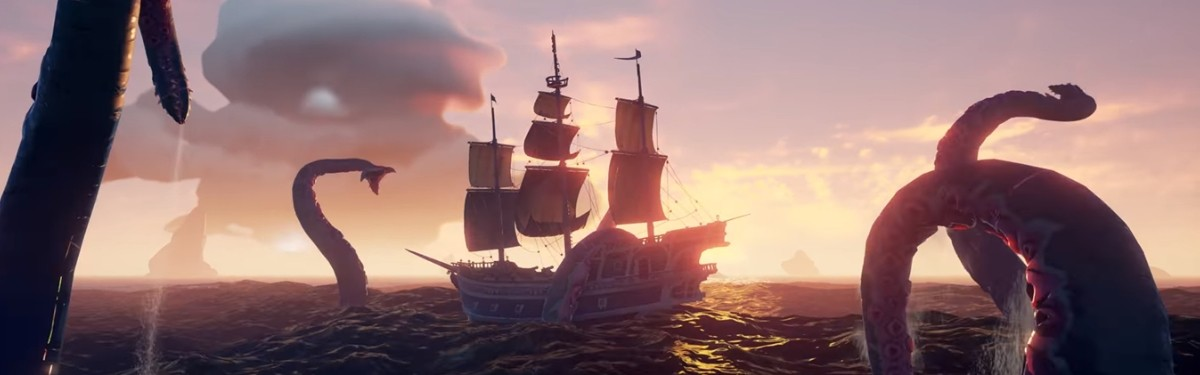 Сегодня выйдет DLC Shrouded Spoils для Sea of Thieves