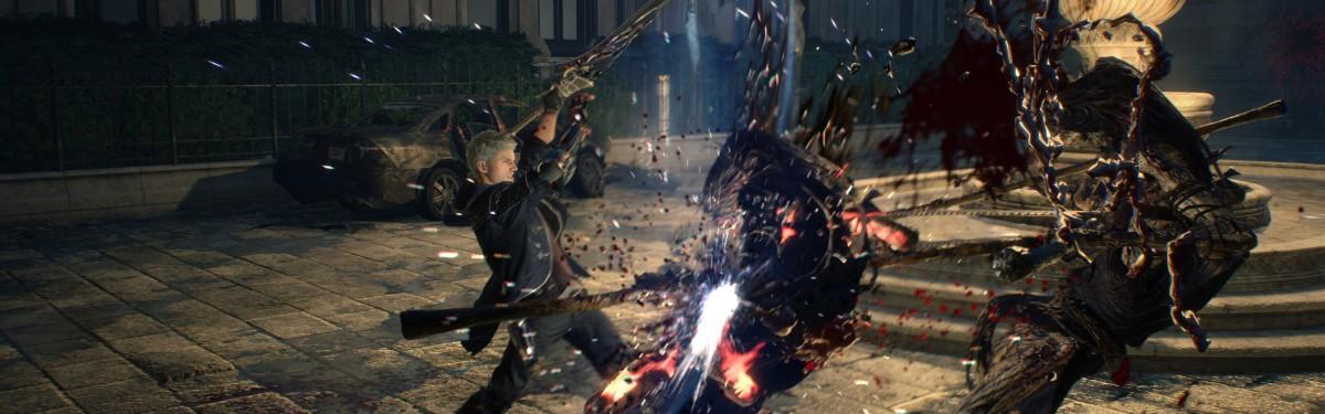 Видео: как сражается Неро в Devil May Cry 5