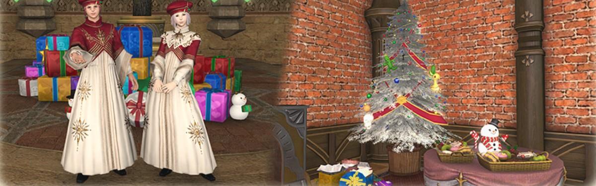 Final Fantasy XIV - Стартовал зимний ивент