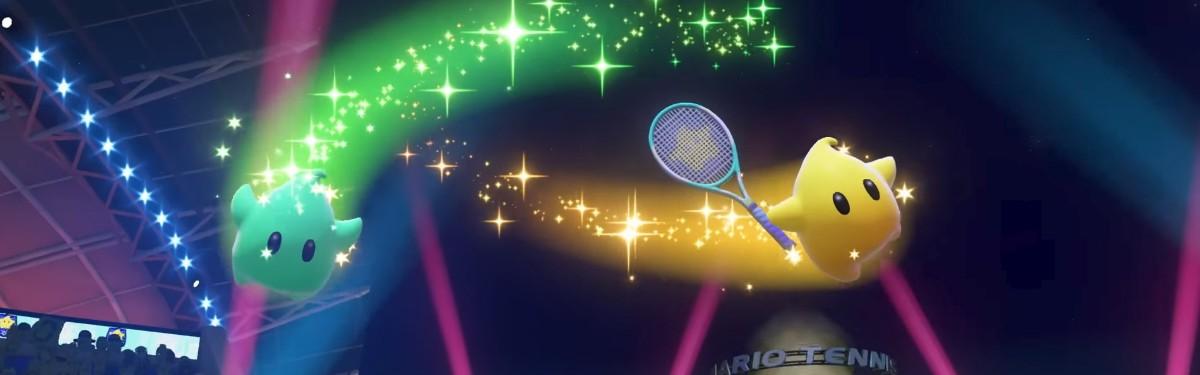 B Mario Tennis Aces скоро появится звездочка Люма