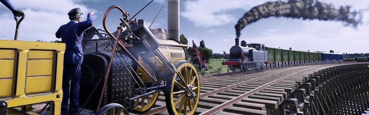 Для Railway Empire вышло дополнение Great Britain & Ireland