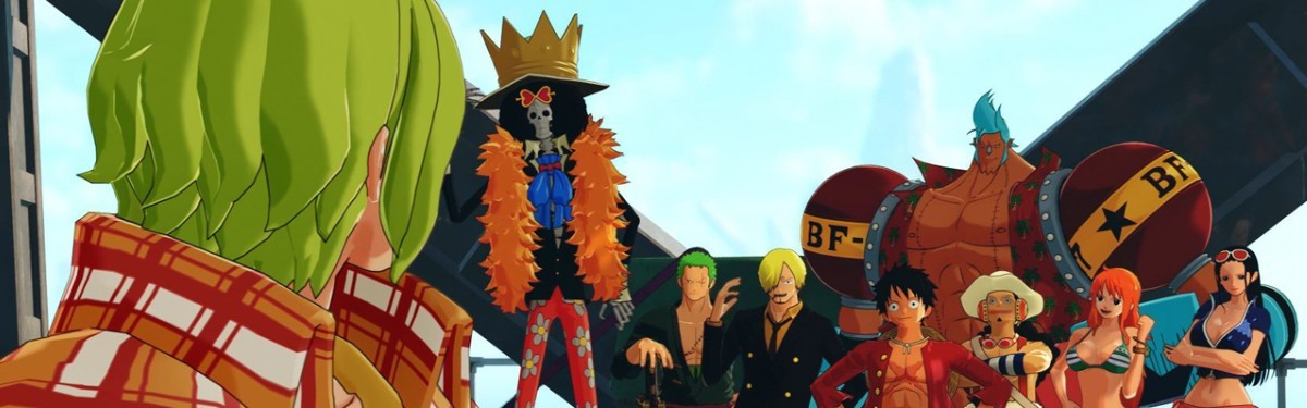 One Piece: World Seeker — Релизный трейлер