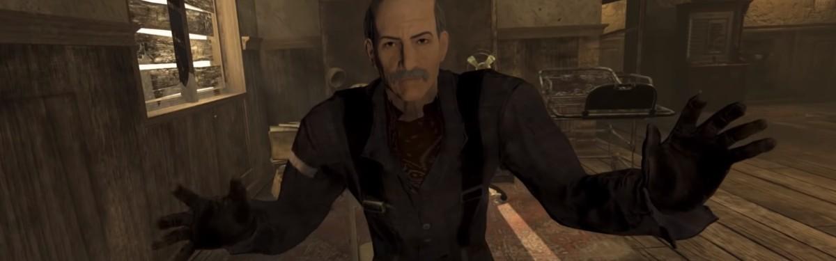Первые 10 минут игрового процесса Fallout 4: New Vegas