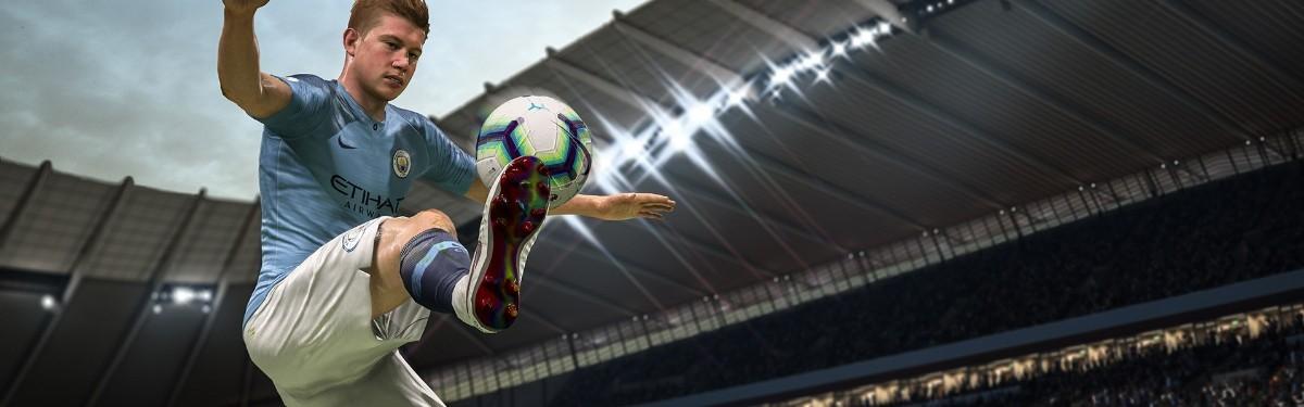 Переработка крученых ударов в FIFA 19