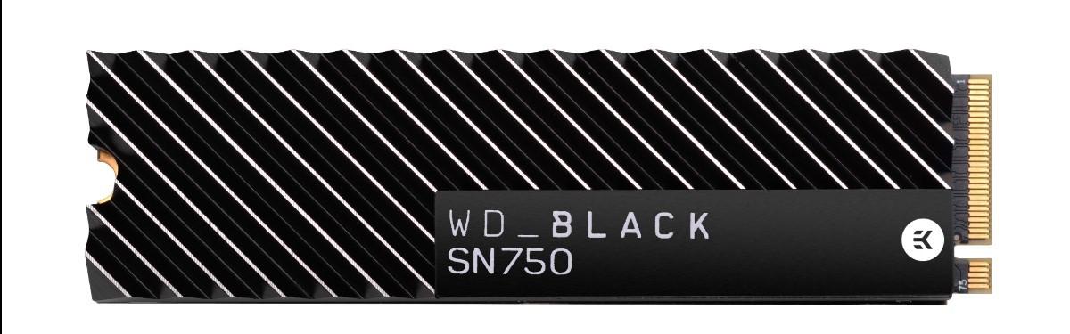 Обновленный WD BLACK SN750 NVME доступен в России с марта 2019