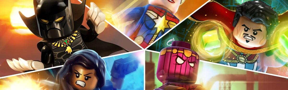 Сборник LEGO Marvel Collection обзавелся релизным трейлером
