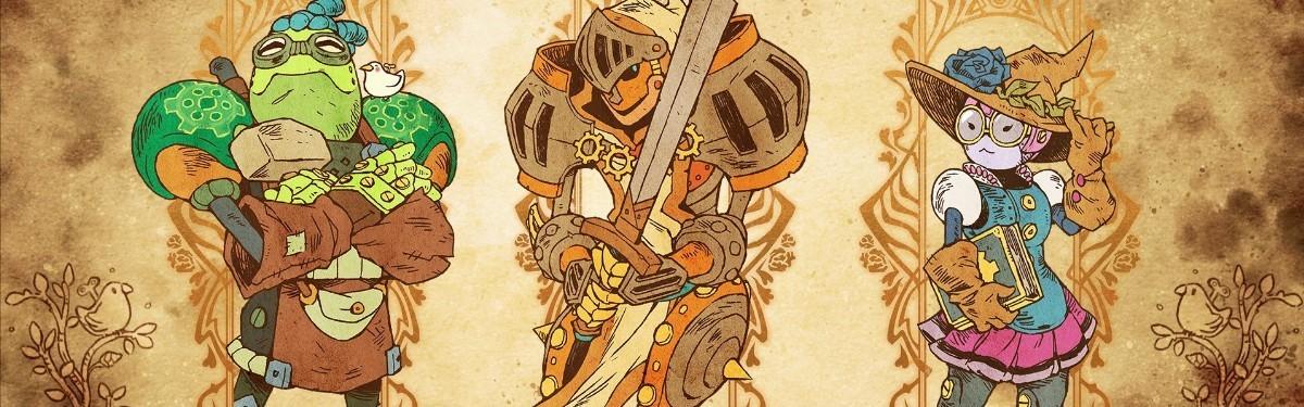 SteamWorld Quest: Hand of Gilgamech - Двадцать минут геймплея