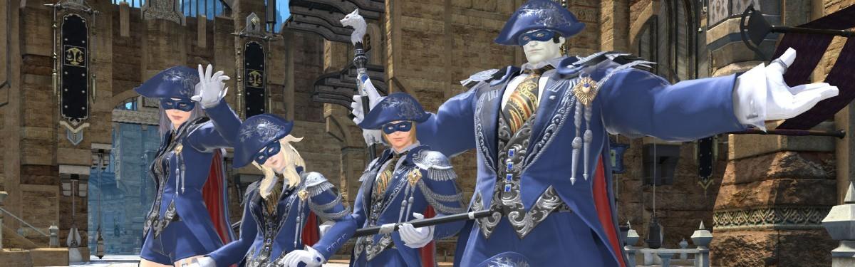 Final Fantasy XIV - Синий Маг готов к бою