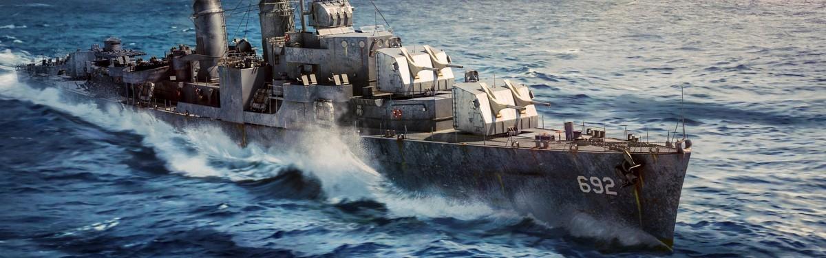 Стрим: War Thunder - Корабли уходят в море