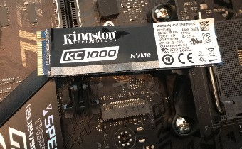 [ОБЗОР] Kingston KC1000 NVMe PCIe SSD 480 Gb