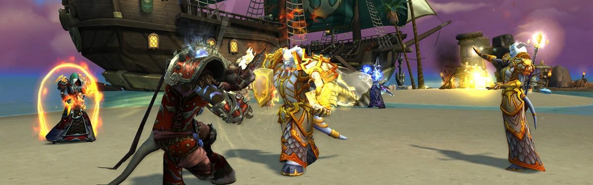 """World of Warcraft - """"Волны возмездия"""" добавят два новых острова"""