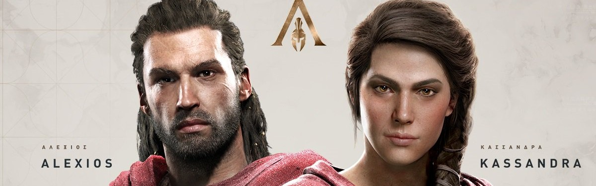 Две трети игроков Assassin's Creed: Odyssey выбрали Алексиоса