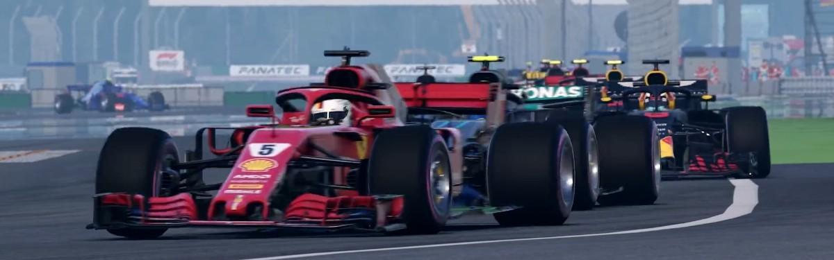 F1 2018 - Второй геймплейный трейлер