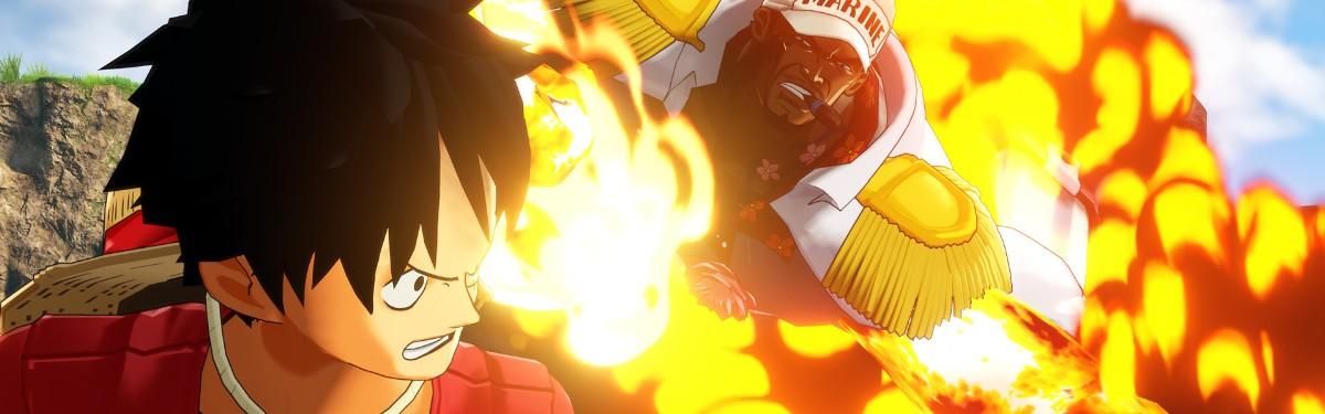 Стрим: One Piece: World Seeker - Приключения Луффи и его друзей