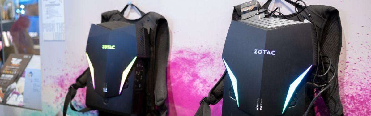 Zotac VR Go 2.0 - VR за плечами