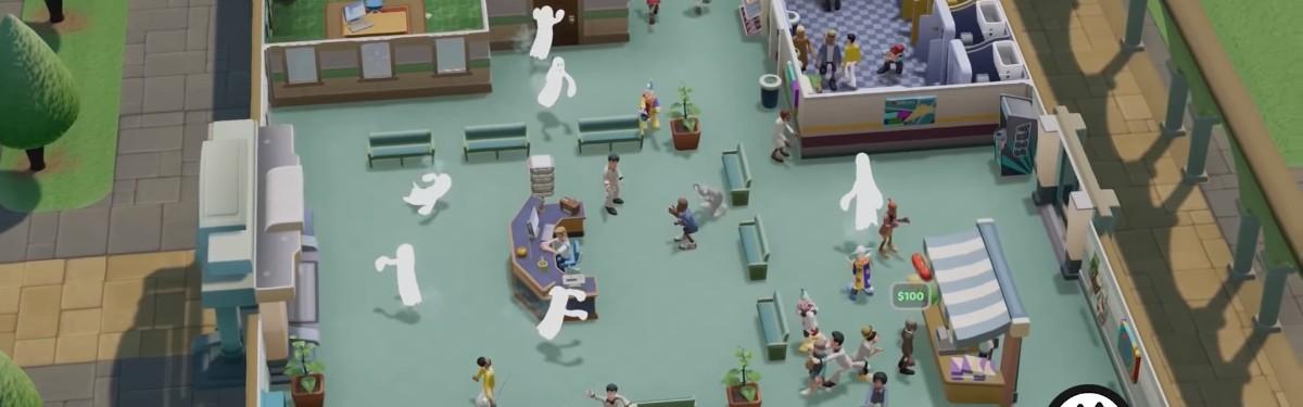 В Two Point Hospital пользователи столкнутся с привидениями