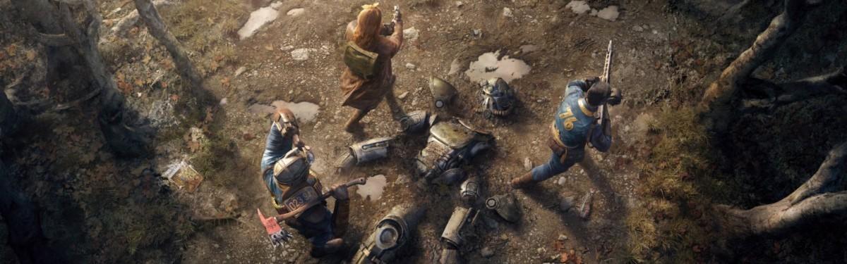 Для Fallout 76 вышло свежее обновление