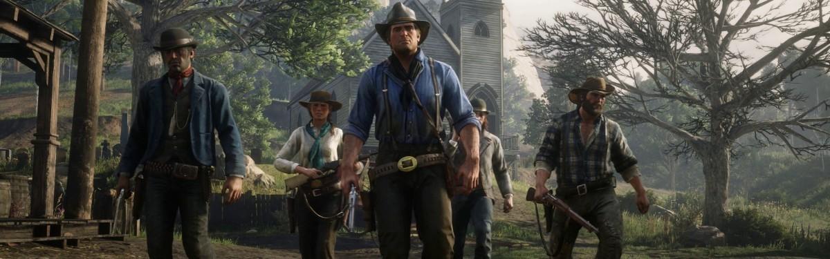 Red Dead Redemption 2 вновь стал лидером британского чарта