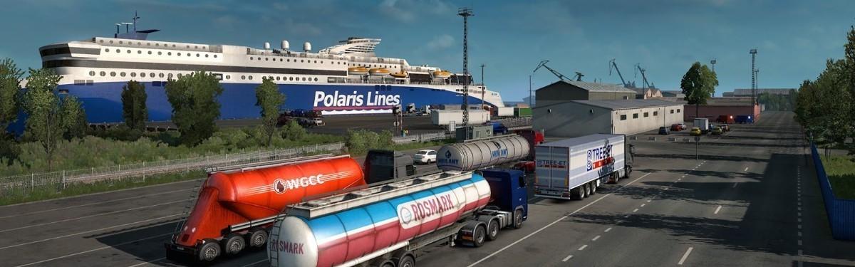 Новое дополнение в Euro Truck Simulator 2 добавит Россию