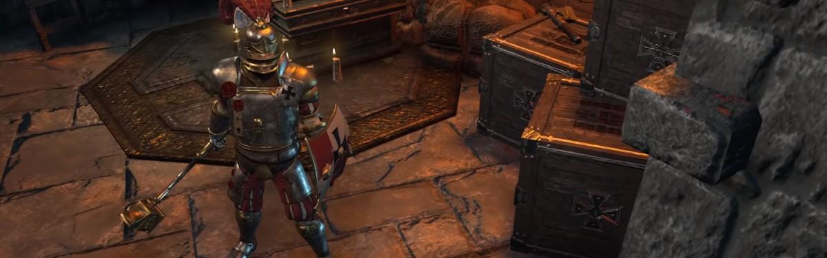 Warhammer: Chaosbane - Знакомство с имперским капитаном