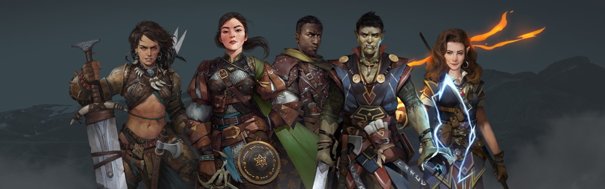 Pathfinder: Kingmaker - Редактор персонажей в новом ролике