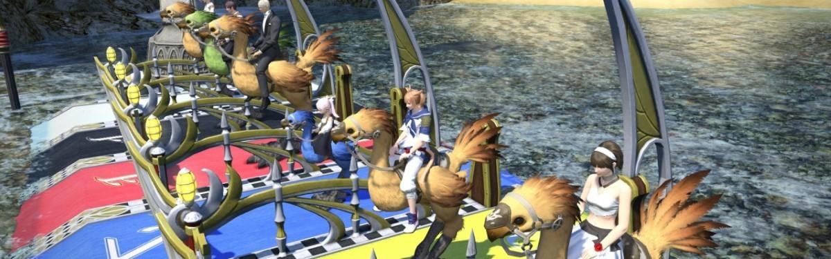 Руководство: Final Fantasy XIV - Гоночный чокобо и все о нем