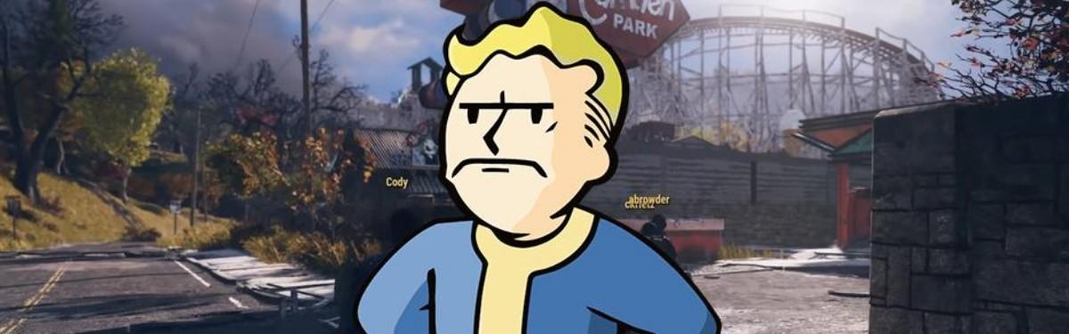 Fallout 76 – Игроки пробрались в «комнату разработчиков»