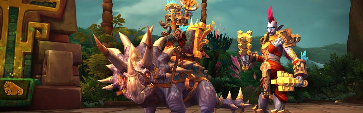 World of Warcraft - Зандалары и култирасцы готовятся вступить в войну