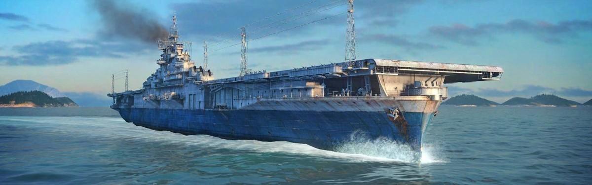 Стрим: World of Warship - Смотрим обновленные авианосцы