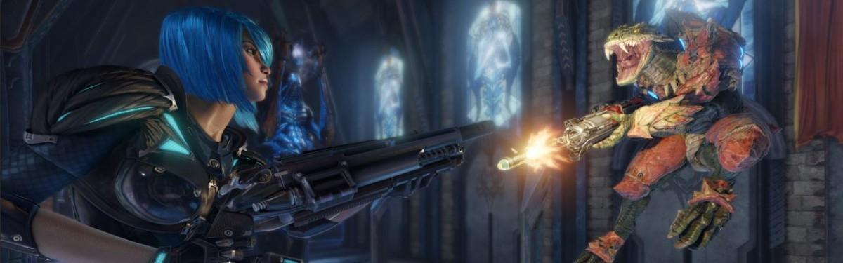 Quake Champions - Мартовское обновление и начало второго сезона