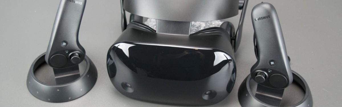 Перевод: Шлем гибридной реальности для Windows Samsung HMD Odyssey