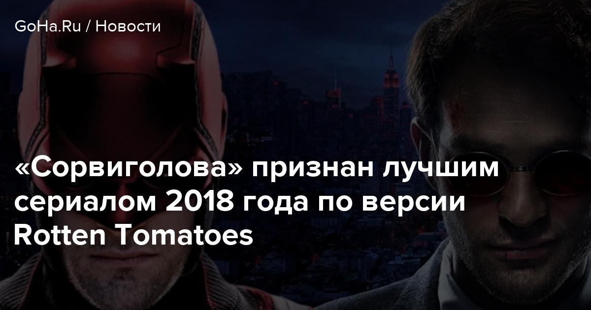 «Сорвиголова» признан лучшим сериалом 2018 года по версии Rotten Tomatoes