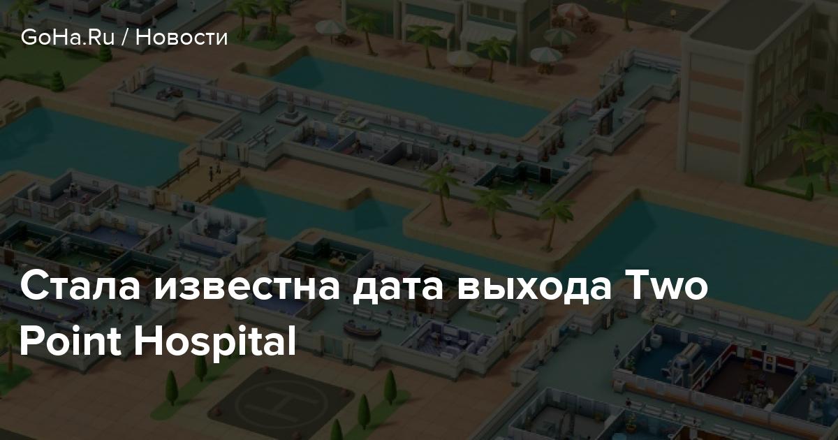 Стала известна дата выхода Two Point Hospital