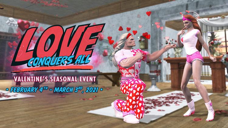 DC Universe Online - Началось празднование Дня святого Валентина
