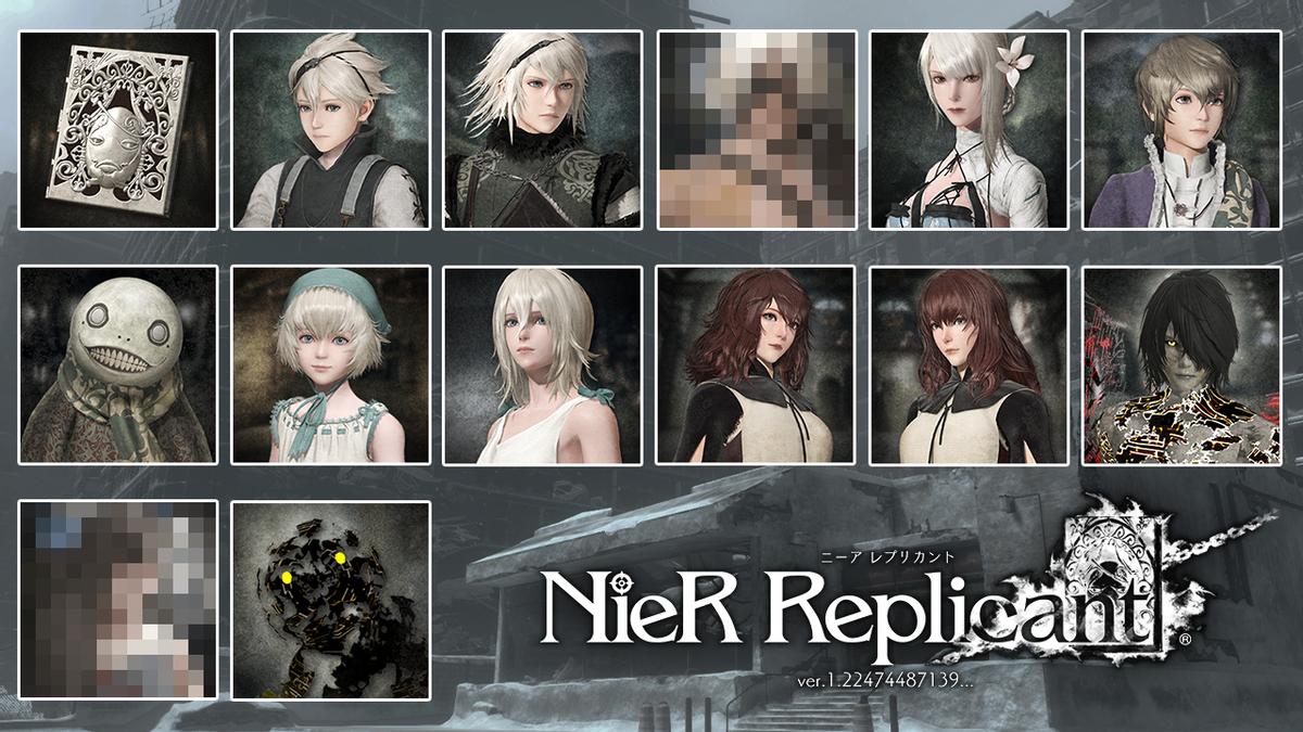 NieR Replicant ver.1.22474487139… — Тема для PS4 и набор аватаров с папой-Ниером, Бонусы первого издания